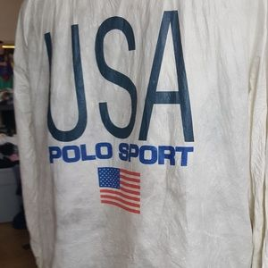 Polo Ralph Lauren Polo Sports vintage Olympic 80's